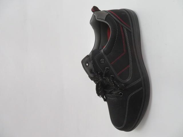 Buty Sportowe Męskie H2046, Black/Grey, 40-46