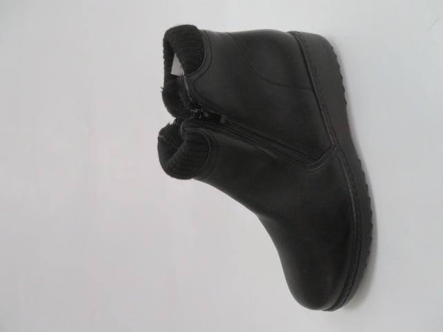 Botki Damskie 8127-1, Black, 36-41