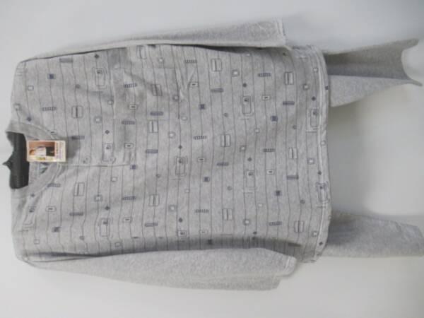 Piżama Męska V1744 MIX KOLOR M-3XL(BAWEŁNA OCIEPLANA)