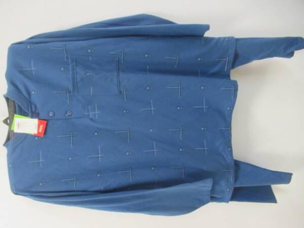 Piżama Męska OGV-17 MIX KOLOR M-3XL(BAWEŁNA OCIEPLANA) 1