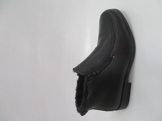 Trzewiki Męskie Zimowe E5607-1, Black, 40-46