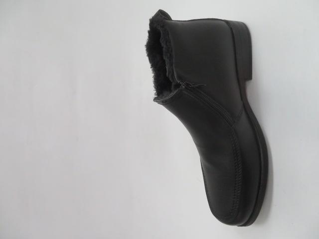Trzewiki Męskie Zimowe E5607-1, Black, 41-46 1