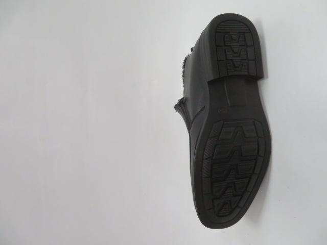 Trzewiki Męskie Zimowe E5607-1, Black, 41-46 3
