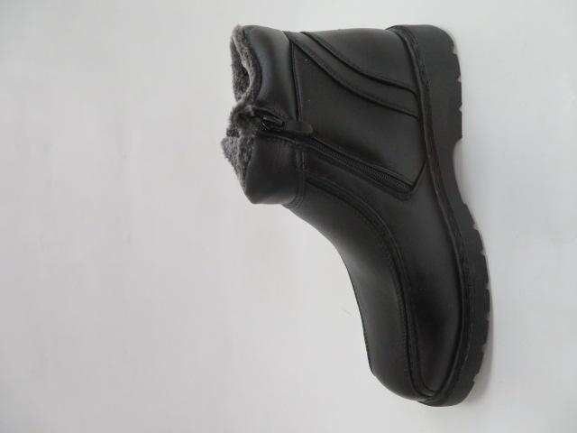 Trzewiki Męskie Zimowe H2030, Black, 40-46 1