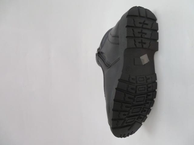 Trzewiki Męskie Zimowe H2030, Black, 40-46 2