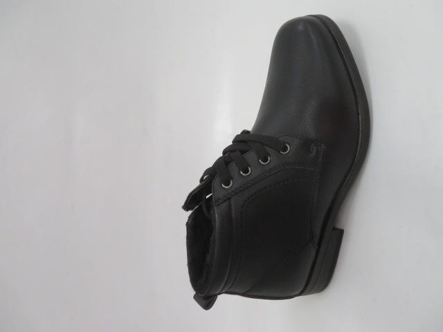 Trzewiki Męskie Zimowe E5606-1, Black, 40-46