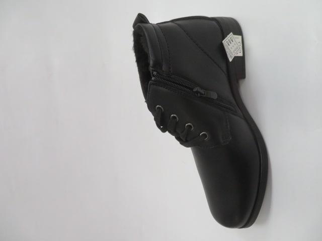 Trzewiki Męskie Zimowe E5606-1, Black, 40-46 1
