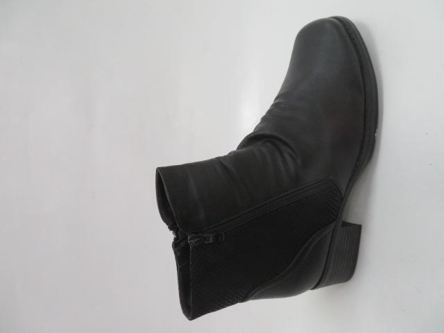 Botki Damskie 2403-1, Black, 36-41