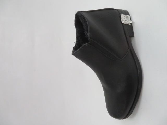 Trzewiki Męskie Zimowe E5609-1, Black, 40-46