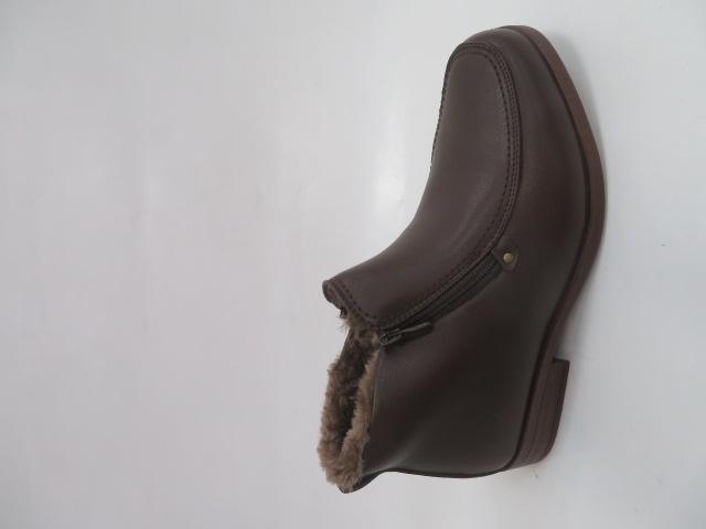 Trzewiki Męskie Zimowe E5607-2, Brown, 40-46