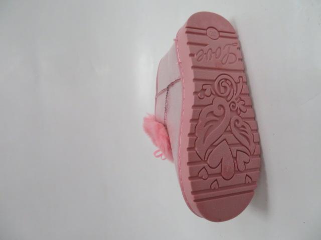 Botki Dziecięce YG-109C, Pink, 31-36 2