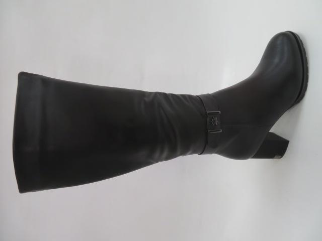Kozaki Damskie BA118, Black, 36-40