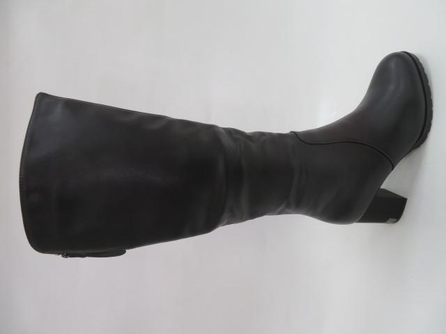 Kozaki Damskie BA117-1, Black, 36-40