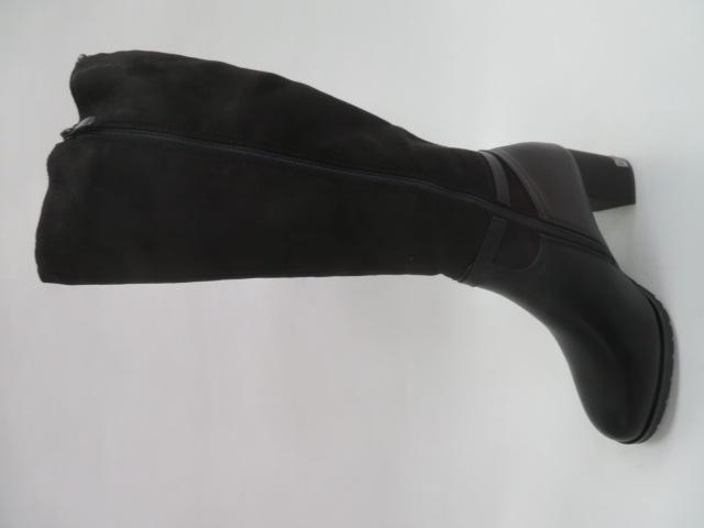 Kozaki Damskie  BA116, Black, 36-40 1