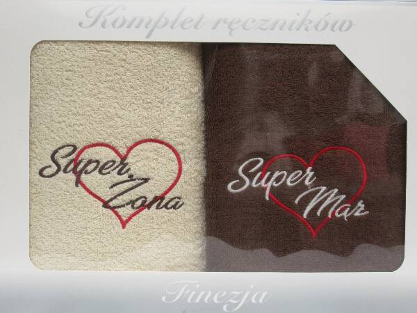 Komplet Ręczników KK2205 MIX KOLOR 70X140 CM