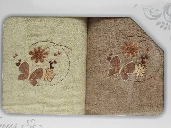 Komplet Ręczników KK2214 MIX KOLOR 70X140 CM