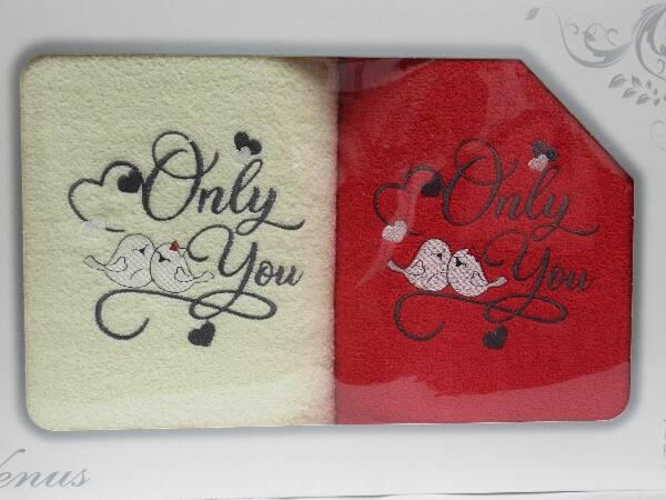 Komplet Ręczników KK2236 MIX KOLOR 70X140 CM