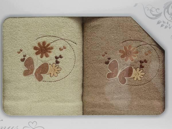 Komplet Ręczników KK2262 MIX KOLOR 70X140 CM