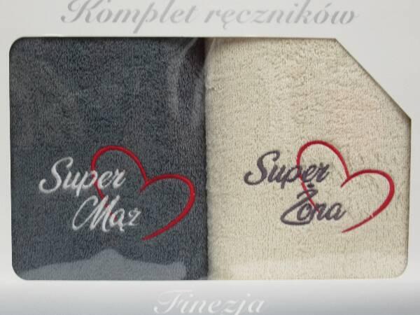 Komplet Ręczników KK2265 MIX KOLOR 70X140 CM