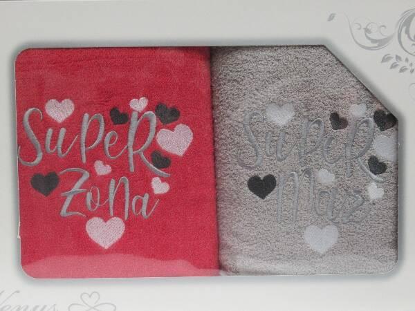 Komplet Ręczników KK2267 MIX KOLOR 70X140 CM