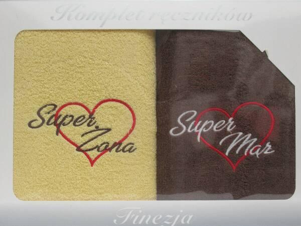 Komplet Ręczników KK2271 MIX KOLOR 70X140 CM