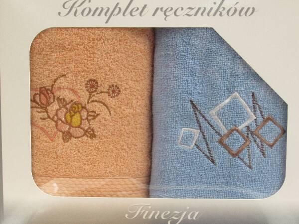 Komplet Ręczników KK2284 MIX KOLOR 50X90 CM