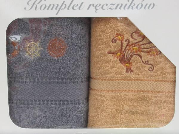 Komplet Ręczników KK2286 MIX KOLOR 50X90 CM