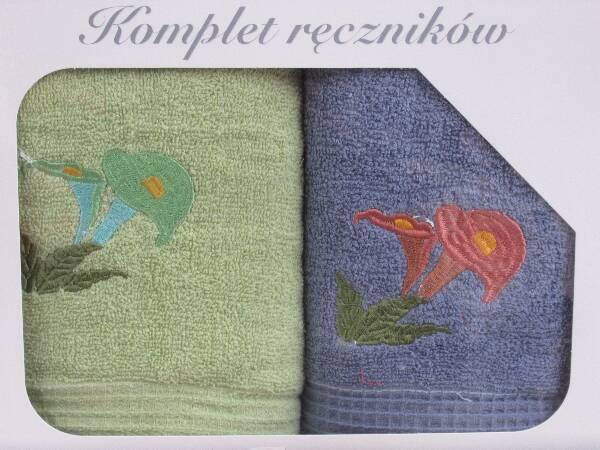 Komplet Ręczników KK2288 MIX KOLOR 50X90 CM