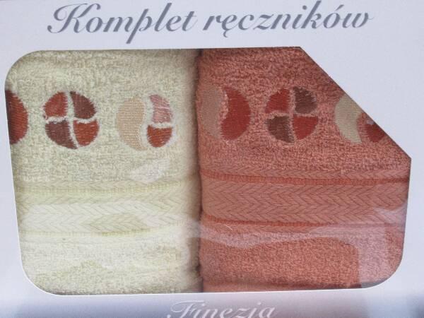 Komplet Ręczników KK2290 MIX KOLOR 50X90 CM