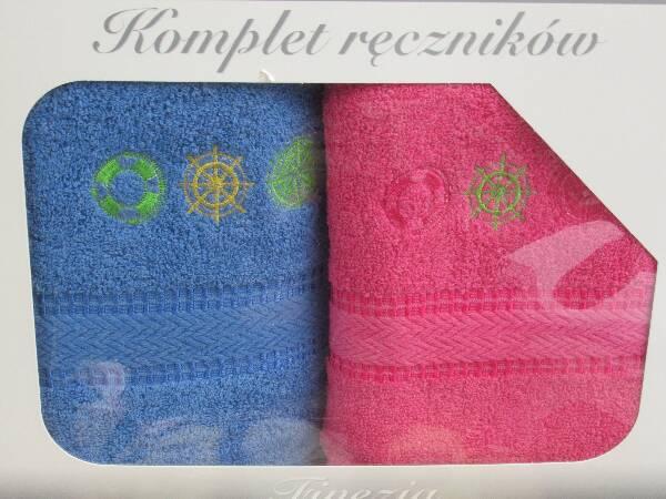 Komplet Ręczników KK2294 MIX KOLOR 50X90 CM