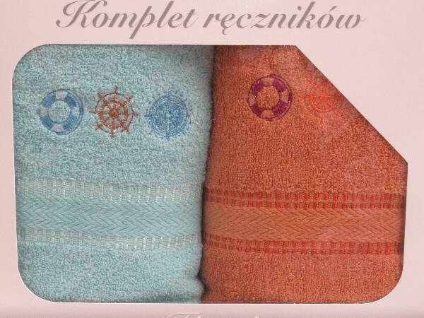 Komplet Ręczników KK2296 MIX KOLOR 50X90 CM