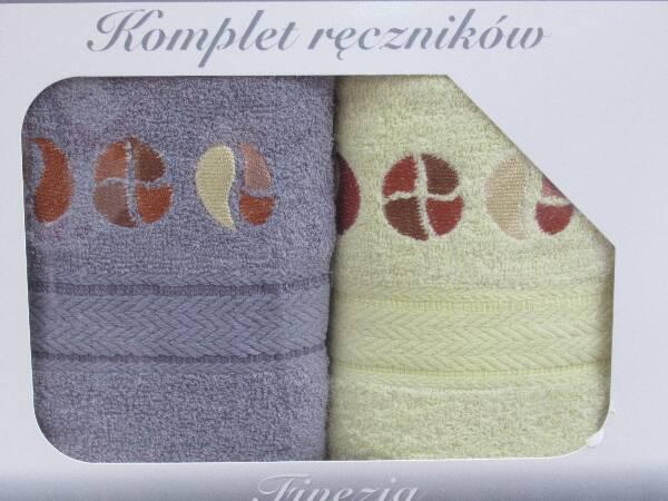 Komplet Ręczników KK2298 MIX KOLOR 50X90 CM