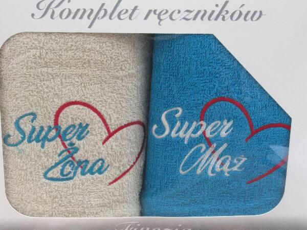 Komplet Ręczników KK2308 MIX KOLOR 50X90 CM
