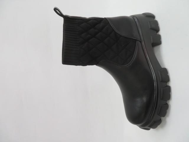 Botki Damskie RXJ 112, Black, 36-41