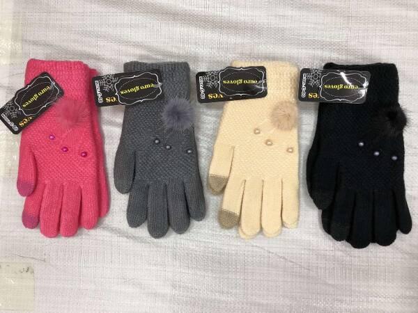 Rękawiczki Damskie C36 MIX KOLOR STANDARD