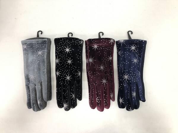 Rękawiczki Damskie F4262 MIX KOLOR STANDARD
