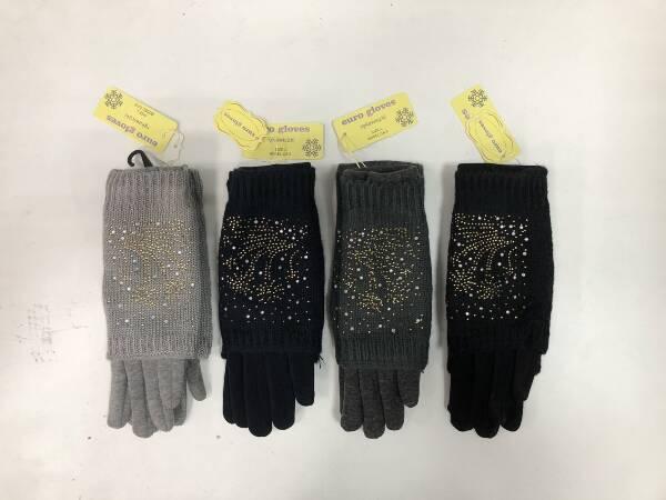 Rękawiczki Damskie CA9 MIX KOLOR M/L