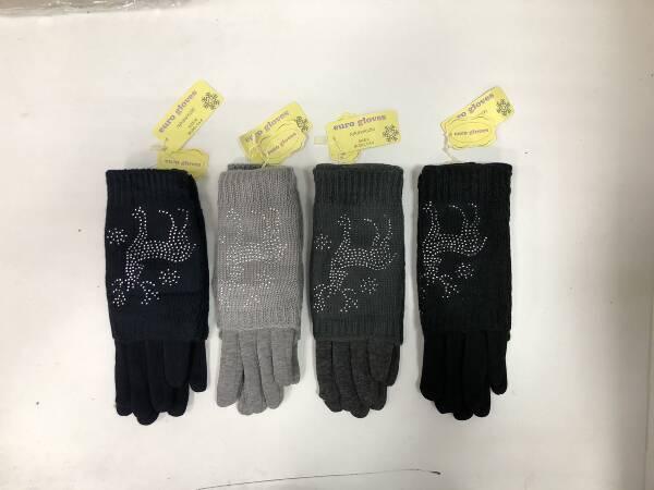 Rękawiczki Damskie CA-6 MIX KOLOR M/L