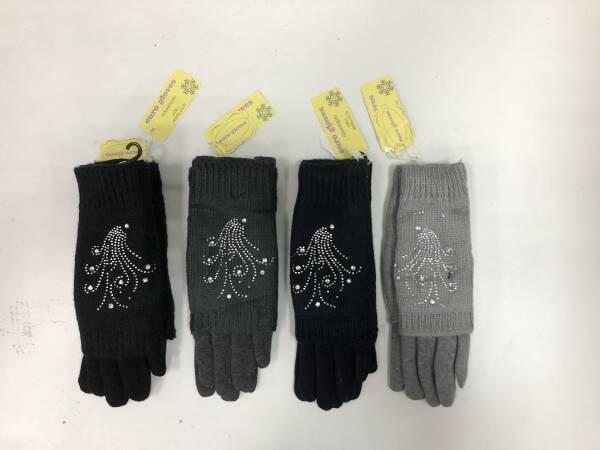 Rękawiczki Damskie CA-10 MIX KOLOR M/L