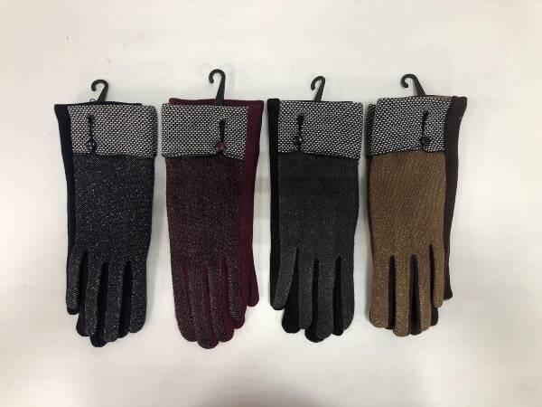 Rękawiczki Damskie F4278 MIX KOLOR STANDARD