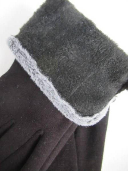 Rękawiczki Damskie CD103 MIX KOLOR M-L ( Ocieplane ) 2