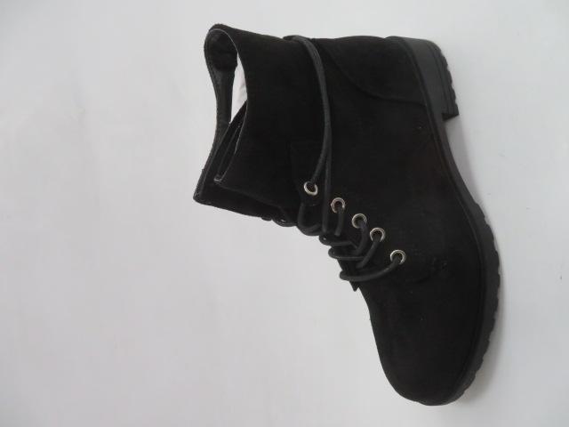 Botki Damskie XLT-0650-01A, Black,36-41