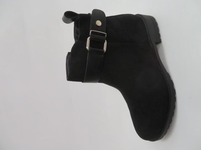 Botki Damskie XLT0650-2015A, Black, 36-41