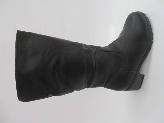 Botki Damskie D8817-3, Black, 40-43