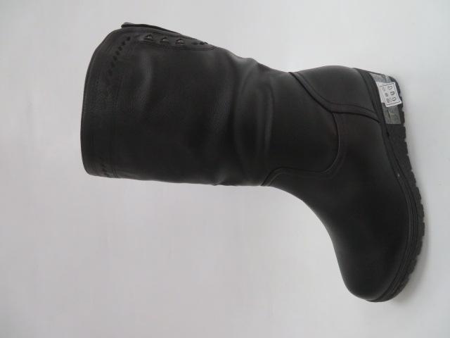 Botki Damskie D885-10, Black, 39-43