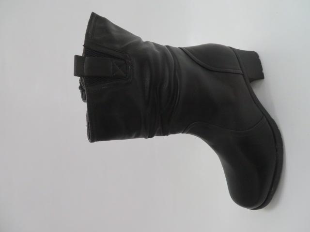 Botki Damskie D881-13, Black, 39-43