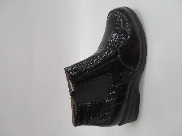 Botki Damskie 663A, Black, 36-41