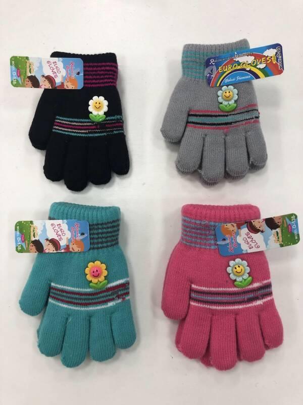 Rękawiczki Dziecięce D-138 MIX KOLOR 11CM