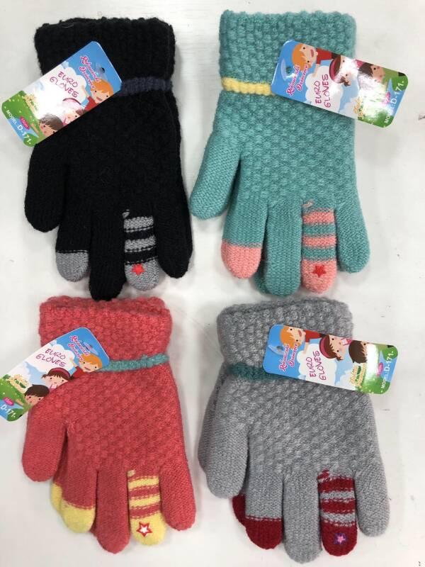Rękawiczki Dziecięce D171 MIX KOLOR 15CM