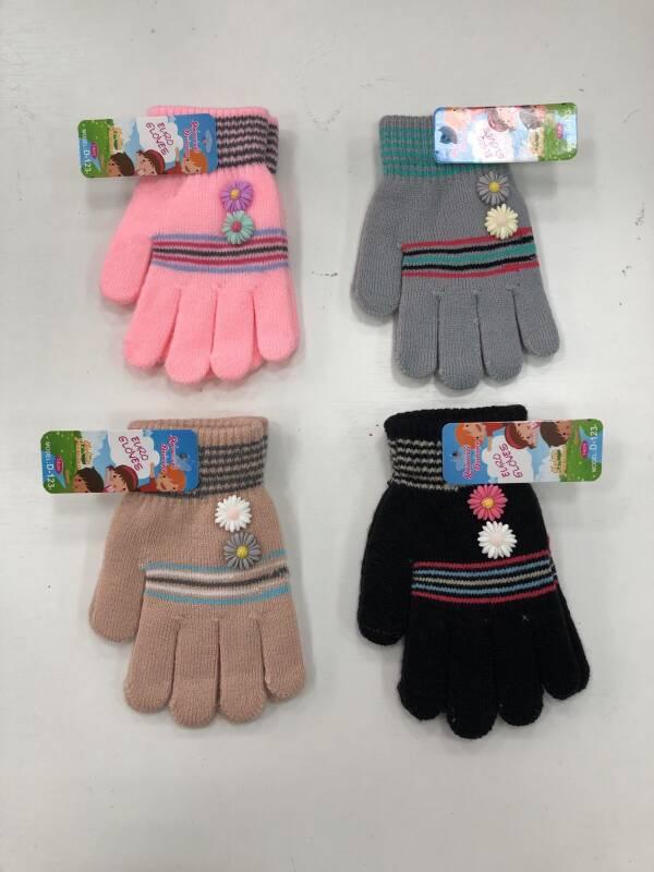 Rękawiczki Dziecięce D123 MIX KOLOR 14CM